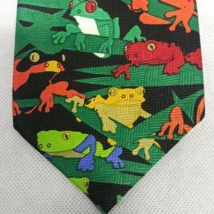 Ralph Marlin Frogs Tie